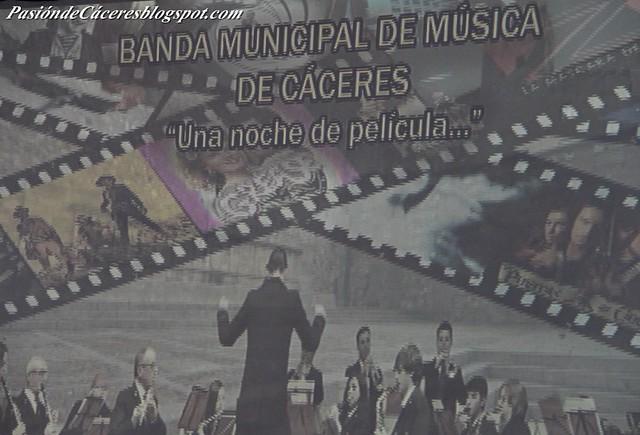 Concierto B S O Banda Municipal de Cáceres
