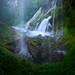 Waterfall Cave by Majeed Badizadegan