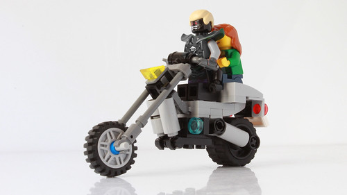 Garmadon's motorcycle from the Ninjago movie