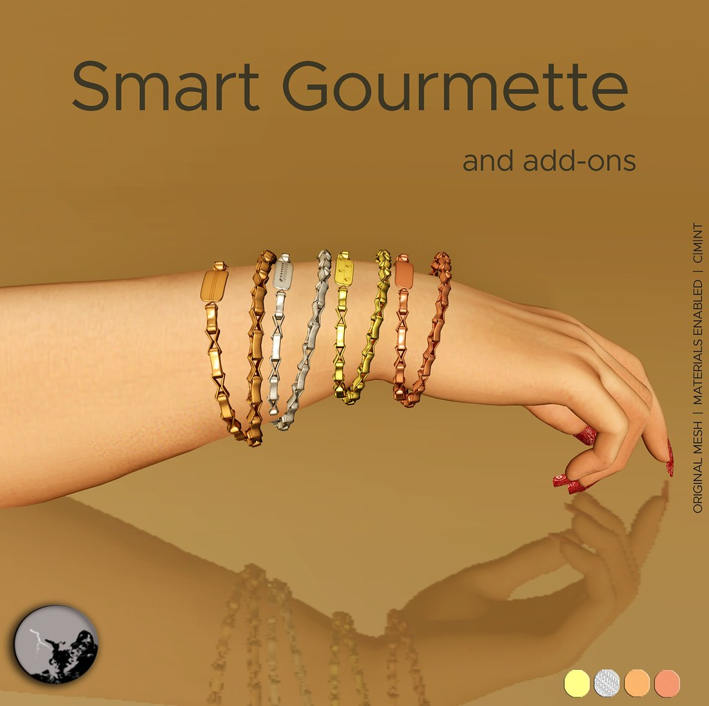 Smart Gourmette-Unisex @ Lost & Found July - SecondLifeHub.com