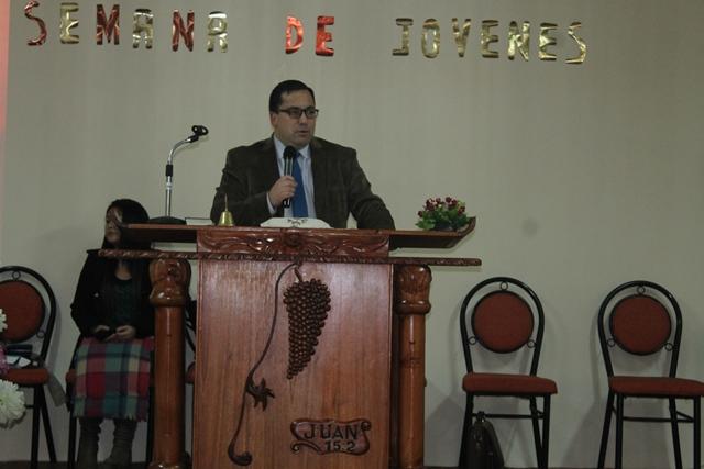 Juventud IMPCH Hualqui visita Iglesia Unión Pentecostal.