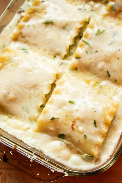 Suzie the Foodie's Chicken Mushroom Lasagna Rollups