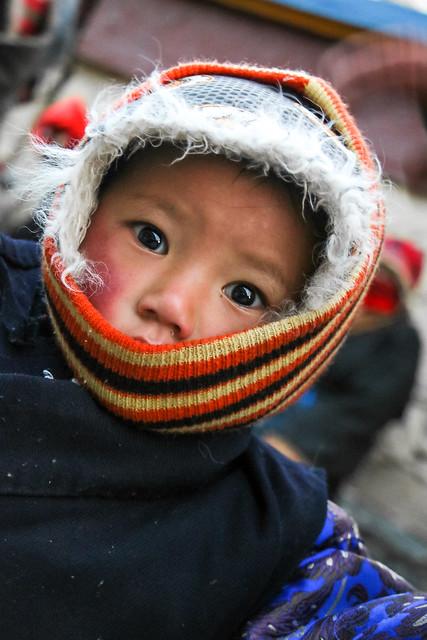 Lovely red cheek girl, Tagong 公塔 りんごほっぺが可愛い女の子