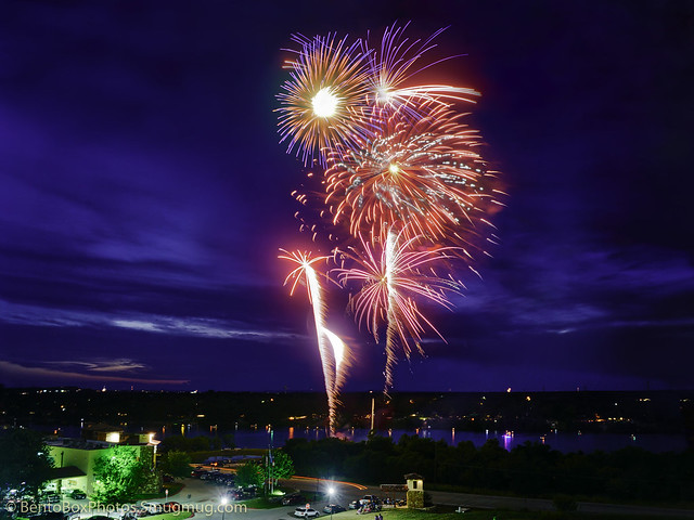 Marble Falls on the 4th of July 2017