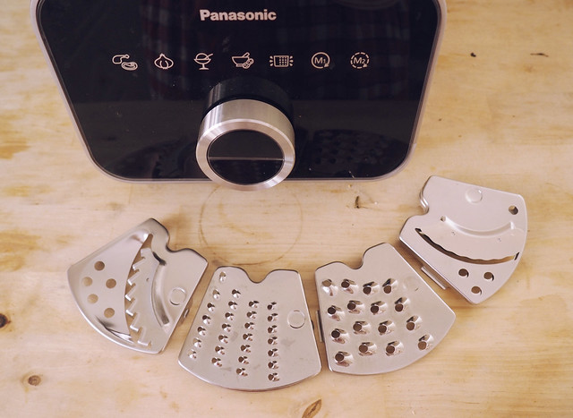 Panasonic food processor attachments