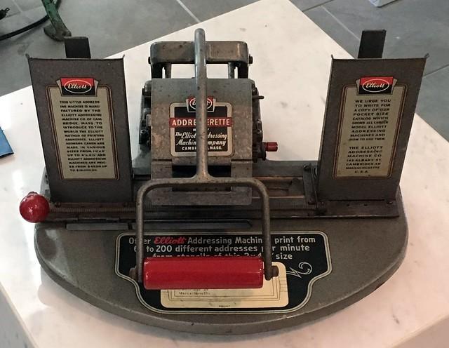Header of Addressing Machine