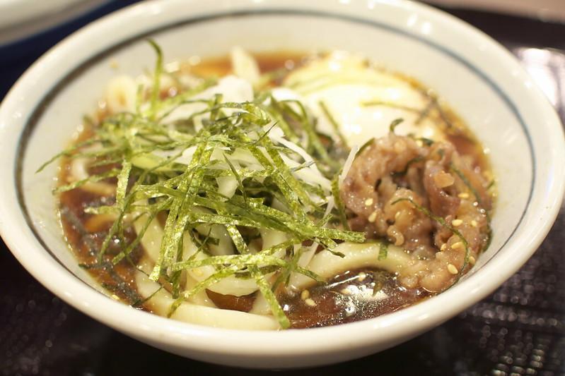 丸亀製麺の旨辛肉つけうどん