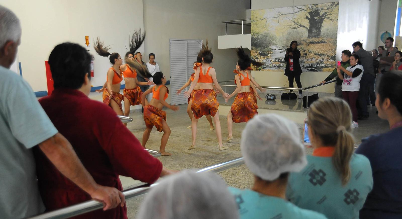 Visitas aos Hospitais - 35º Festival de Dança de Joinville