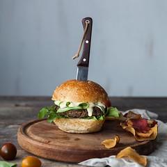 Smokey Black Bean Quinoa Burger (Source) VeganFoodPorn.pictures/ | Vegan Cookbooks On Sale! Like Us On Facebook | Follow Us On Twitter