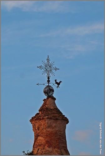 Campanar de l' esglesia de Fornols