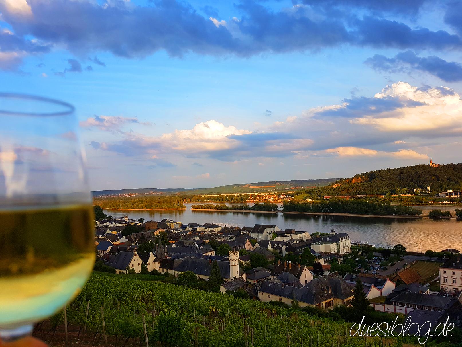 Rüdesheim, Eltville, Kloster Eberbach St. Hildegard & Rheingau