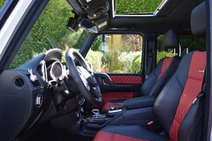 inside G63 luxury suv los angeles ca