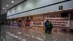Airport workers on strike, Bogotá