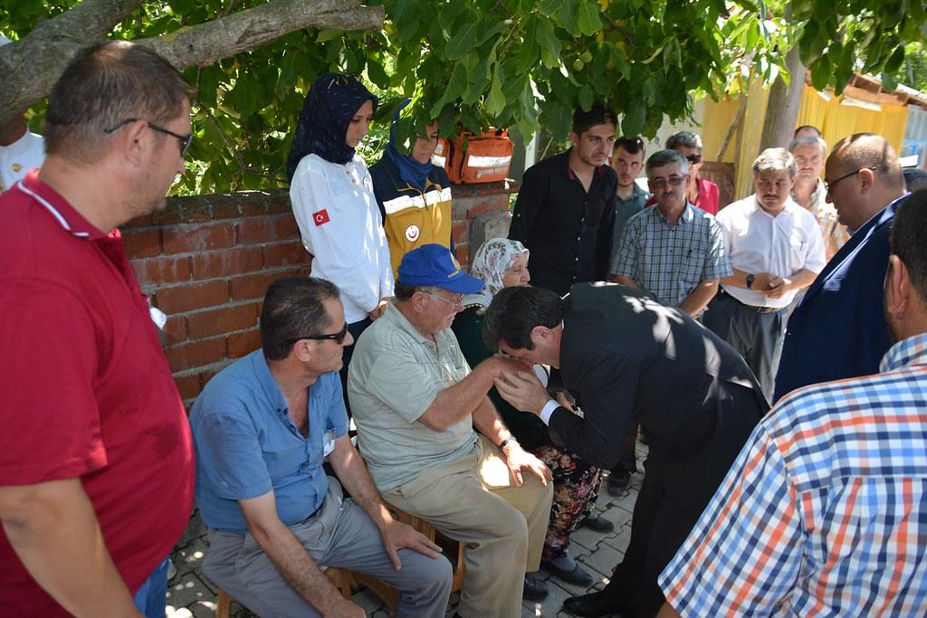 Gazi Kemal Aydın, Son Yolculuğuna Uğurlandı (5)