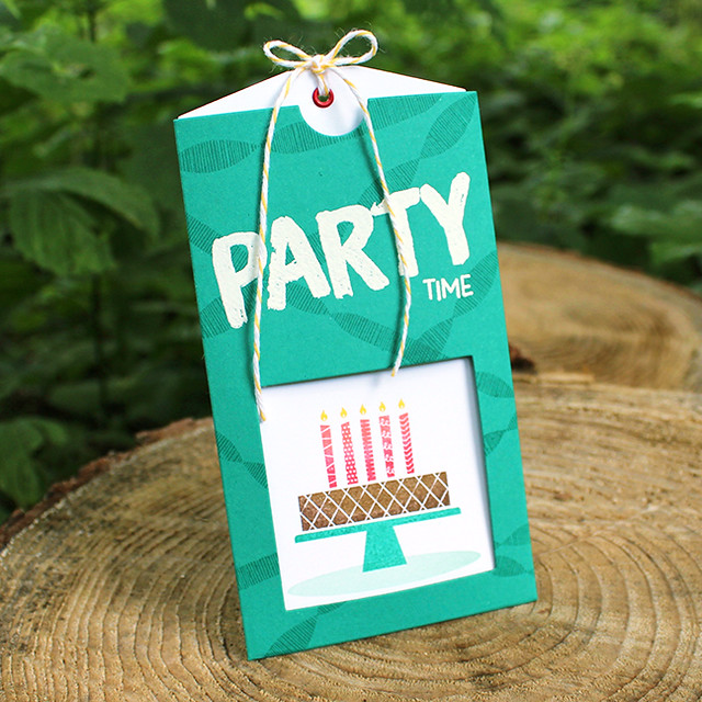 Birthday Party Pocket Invitation