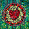Signature Heart Mosaics by Phuzy Logik ♥ CherieBosela.com