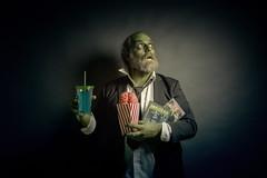 198/365 - zombie movie night