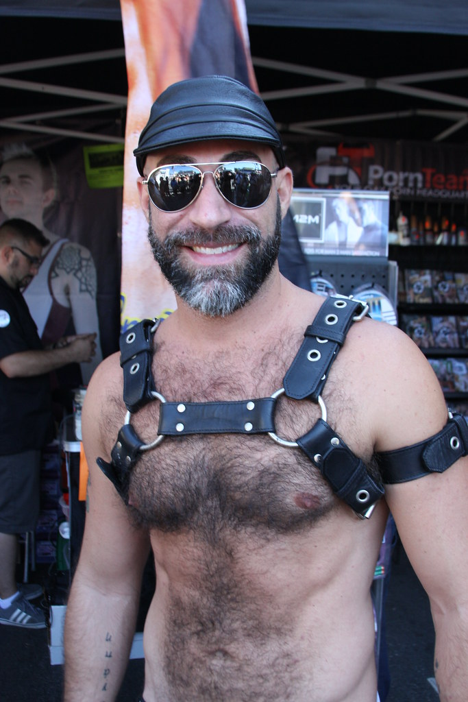 LEATHER MEN ! FOLSOM STREET FAIR 2017 !