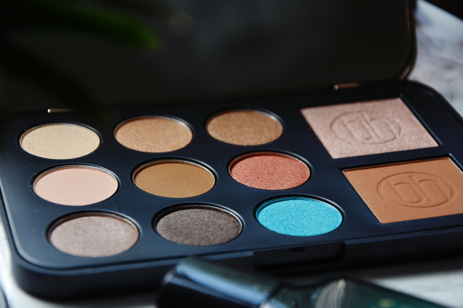 Bh Cosmetics Bronze Paradise palette review