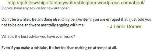 Advice and #writetip by @JLenniDorner