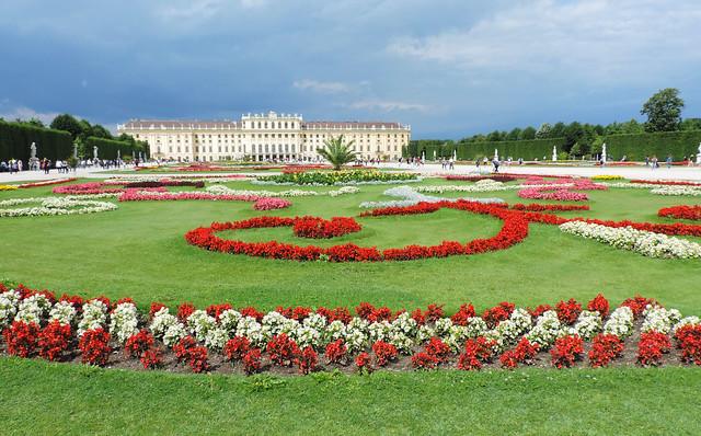 Garden of Schönbrunn Palace, Vienna, Austria