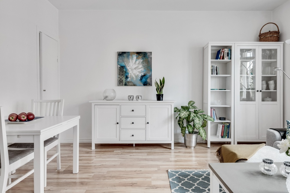 Minimalist Scandinavian Home Filled With Light