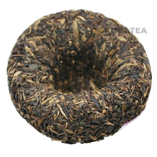 Free Shipping 2010 TAE TEA Dayi Gong Tuo Bowl YunNan Meng Hai Organic Pu'er Pu'erh Puerh Raw Tea Sheng Cha