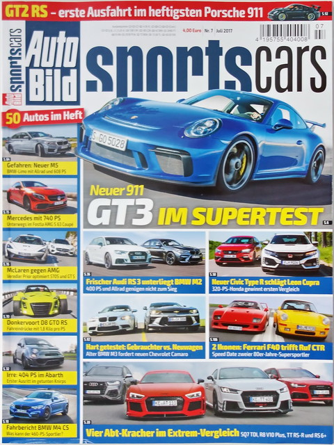 Auto Bild Sportscars 7/2017