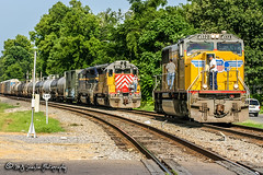 UP 4532 | EMD SD70M | NS Memphis District