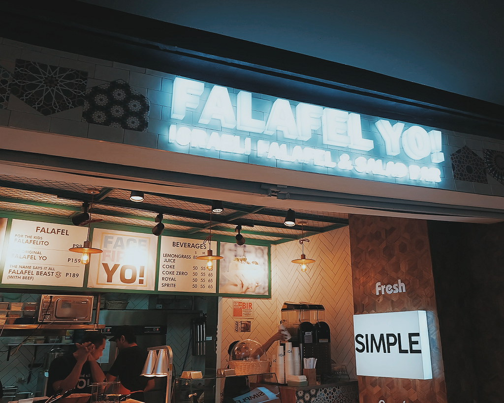 falafel yo greenbelt menu