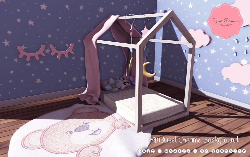 {YD}Sweet Dreams Background - SecondLifeHub.com