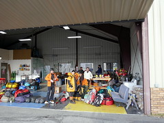 All Our Equipment is gathered on the Yellow square