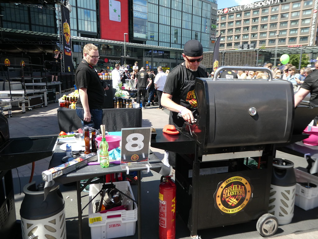 Lidl Grillimaisteri barbecue competition, Helsinki