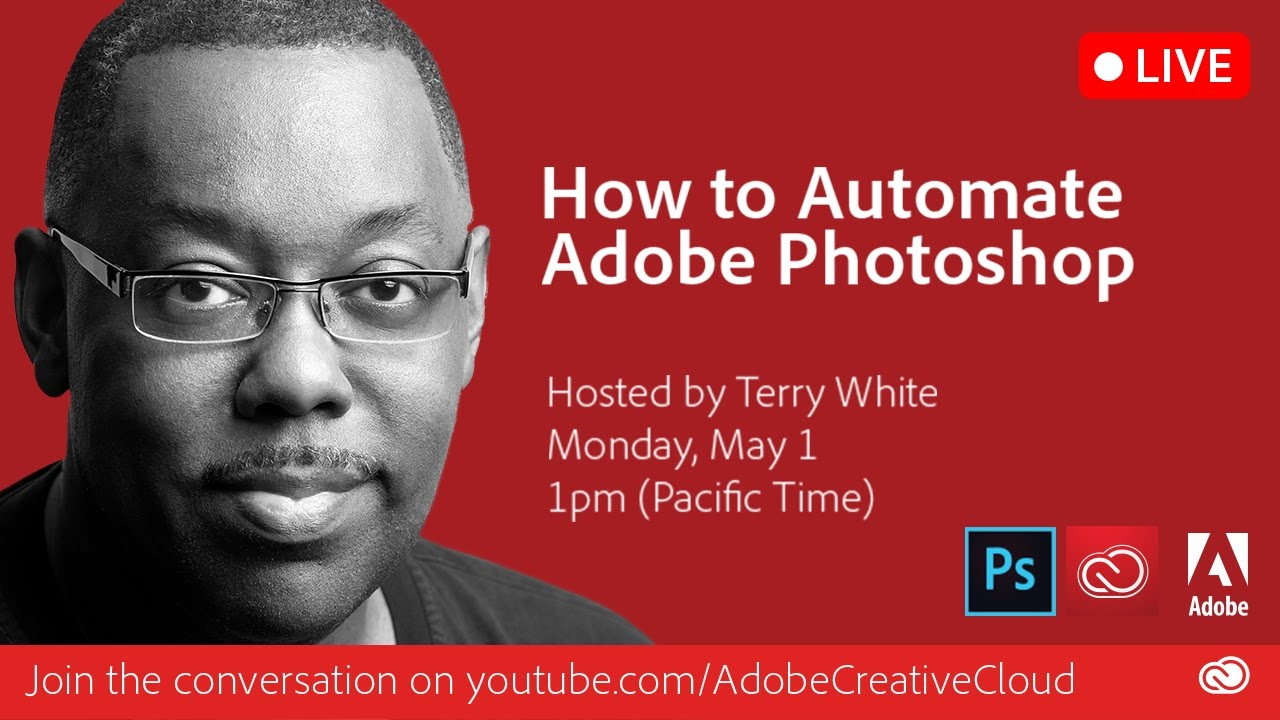 Automating Adobe Photoshop Training Video