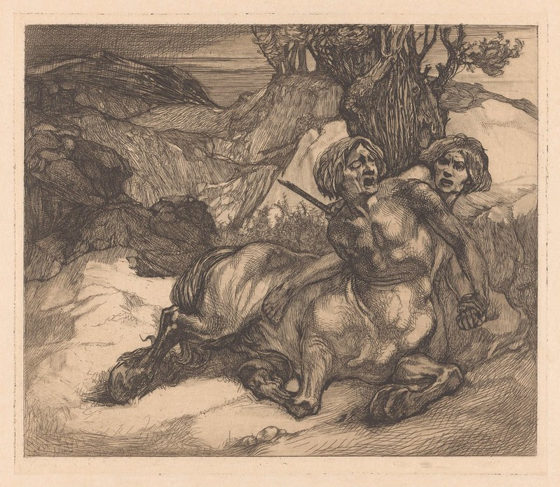 Johannes Josephus Aarts - Injured  Centaur