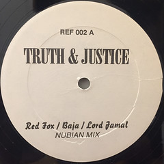 RED FOX:TRUTH & JUSTICE(NUBIAN REMIX)(LABEL SIDE-A)
