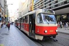 1967 Tatra T3R.P #8381  Originally Tatra T3 #6651 & 1967 Tatra T3R.P #8382  Originally Tatra T3 #6630