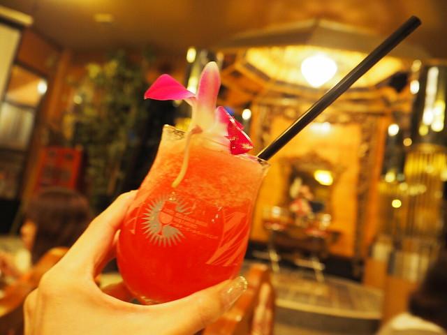 P6243744 Koh Lan Ta Restaurant & Karaoke at Suvarnabhumi thailand bangkok タイ バンコク