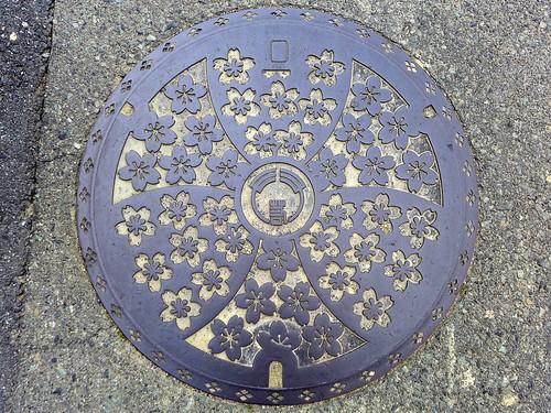 Wakakusa Yamanashi, manhole cover (山梨県若草町のマンホール)