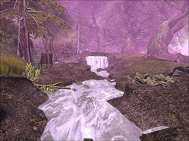 Hobbiton - A Stream Runs Through Here
