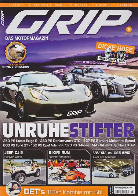 GRIP - Das Motormagazin 2/2015