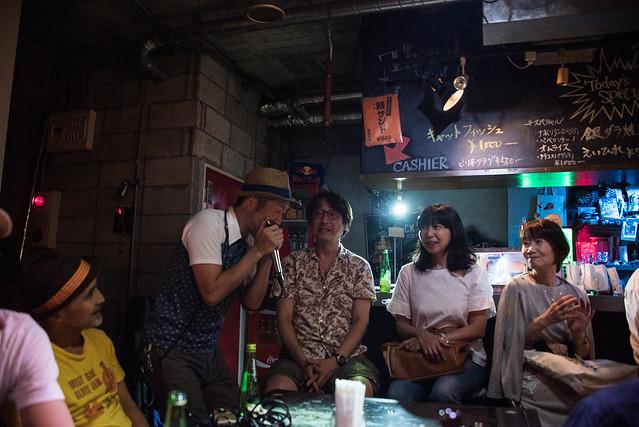 the AstroBluenauts live at Terraplane, Tokyo, 28 Jul 2017 -00387