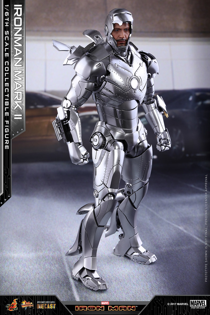 Hot Toys - MMS431D20 - 《鋼鐵人》1/6 比例鋼鐵人馬克2 Iron Man Mark II