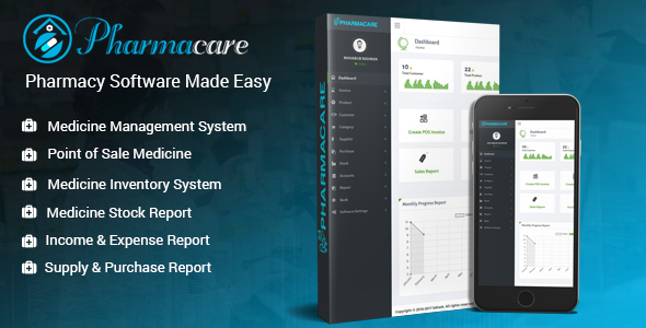 Pharmacare v2.0 – Pharmacy Software Made Easy