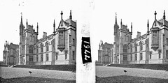 """""""Modern Gothic church or institutional / ecclesiastical building much battlemented, turretted"""" is Magee College"""