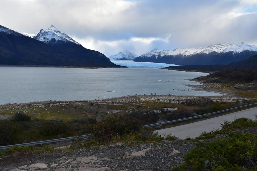 Primer avistamiento del Glaciar