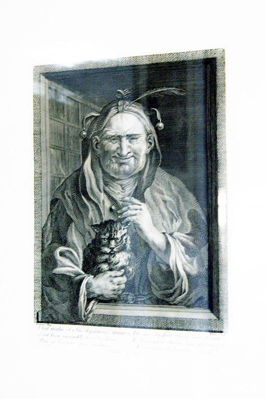 Французская гравюра 18 века