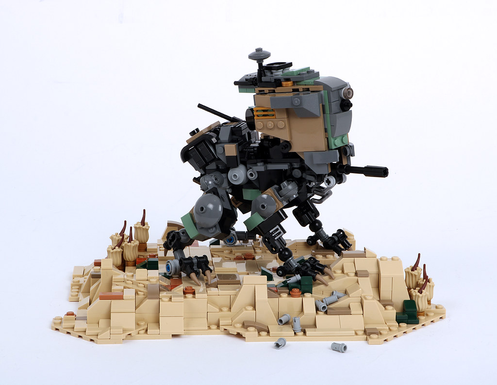 ROVr Mk.3 (custom built Lego model)