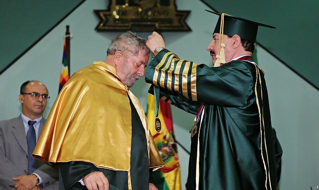 Disseram que eu seria um homem morto caso concedesse título a Lula, diz reitor
