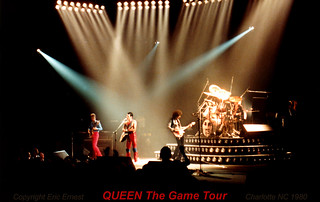 Queen live @ Charlotte - 1980